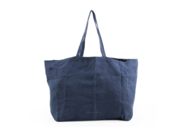 Kyodaina big shopper - Midnight blue - Monk & Anna