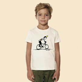 T-Shirt Kids Mud King - Naturel