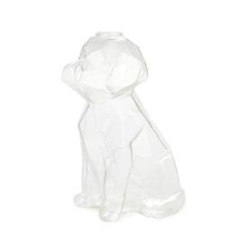 Vaas Sphinx Hond - 23cm - Transparant