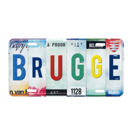 Nummerplaat Brugge - Collage