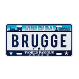 Nummerplaat Brugge - World Famous