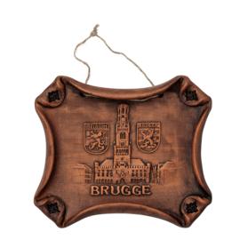 Muurhanger keramiek Brugge - L - 3 ontwerpen