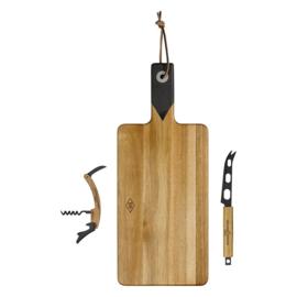 Kaas & Wijn Set - Snijplank met Acc. - Gentlemen's Hardware
