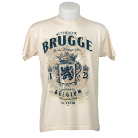 T-shirt Brugge  - Off-White