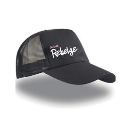 Cap - Je suis Rebelge - Pink