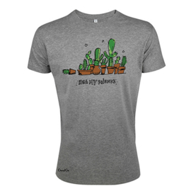 T-Shirt Cactus - Grijs