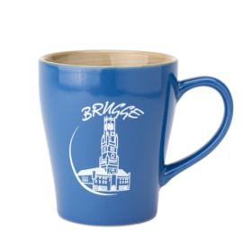 Beker Brugge - Blauw - 2 Ontwerpen