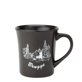 Bruges Cup - Matt Black - 2 Designs