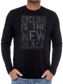 CYCLING IS THE NEW BLACK Long Sleeve T-Shirt - Cycology Gear