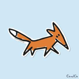 Sticker 'Foxy'
