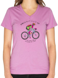 Underestimate Me T-Shirt Ladies - Cycology Gear
