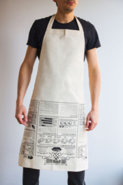 Barbecue Schort - BBQ Apron Guide - SUCK UK