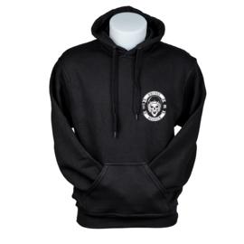 Hooded sweater Brugge Skull Biker - Zwart