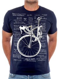 COGNITIVE THERAPY (Navy) T-Shirt - Cycology Gear
