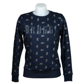 Sweater Lady's Brugge bicycle - Blue