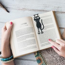 Boekenlegger 'Curious Cat'
