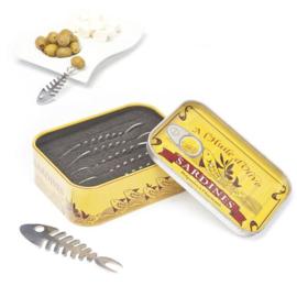 set Aperitief vorkjes - Sardines