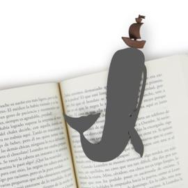 Boekenlegger 'Moby Dick'
