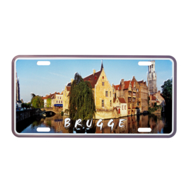 Nummerplaat Brugge - Rozenhoedkaai