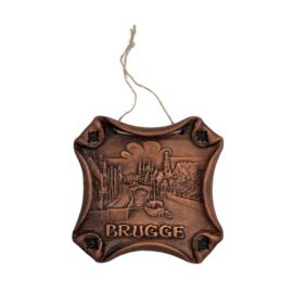 Muurhanger keramiek Brugge - M - 3 ontwerpen