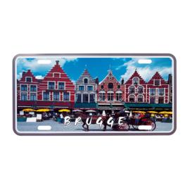 Nummerplaat Brugge - Gevels