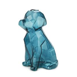 Vaas Sphinx Hond - 23cm - Blauw
