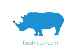 Feestneushoorn - Wenskaart