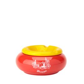 Asbak Brugge - Rood/Geel - 3 ontwerpen