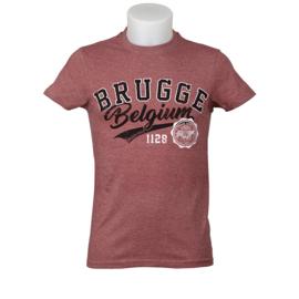 T-shirt Brugge - Bordeaux