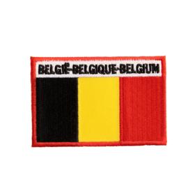 Badge België  Vlag