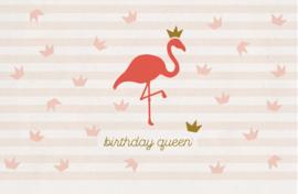 Birthday Queen - Wenskaart - Leuke Kaartjes