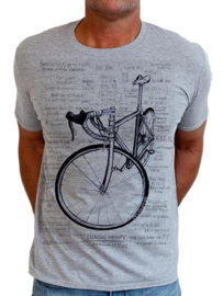 COGNITIVE THERAPY (Grey) T-Shirt - Cycology Gear