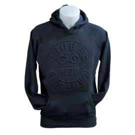 Hooded sweater bicycle '8000' - Blue