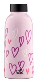 Insulated Bottle - Hearts - Mama Wata