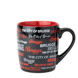 Bruges Cup Text - Red
