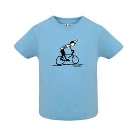 T-Shirt Baby - Mud King - Licht Blauw