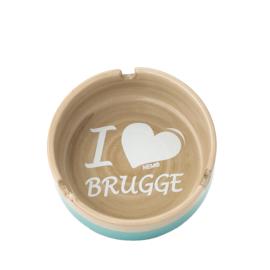 Asbak Brugge - Aqua - 3 ontwerpen