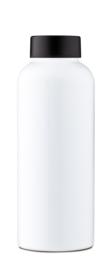 Single Wall Bottle - White - Mama Wata