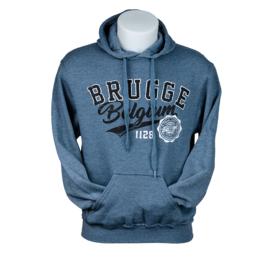Hooded sweater Brugge/Belgium - Blauw