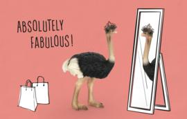 Absolutely fabulous! - Wenskaart - Leuke Kaartjes