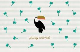 Party animal - Wenskaart - Leuke Kaartjes