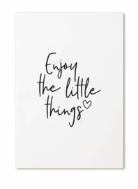Kaartje Enjoy the little things