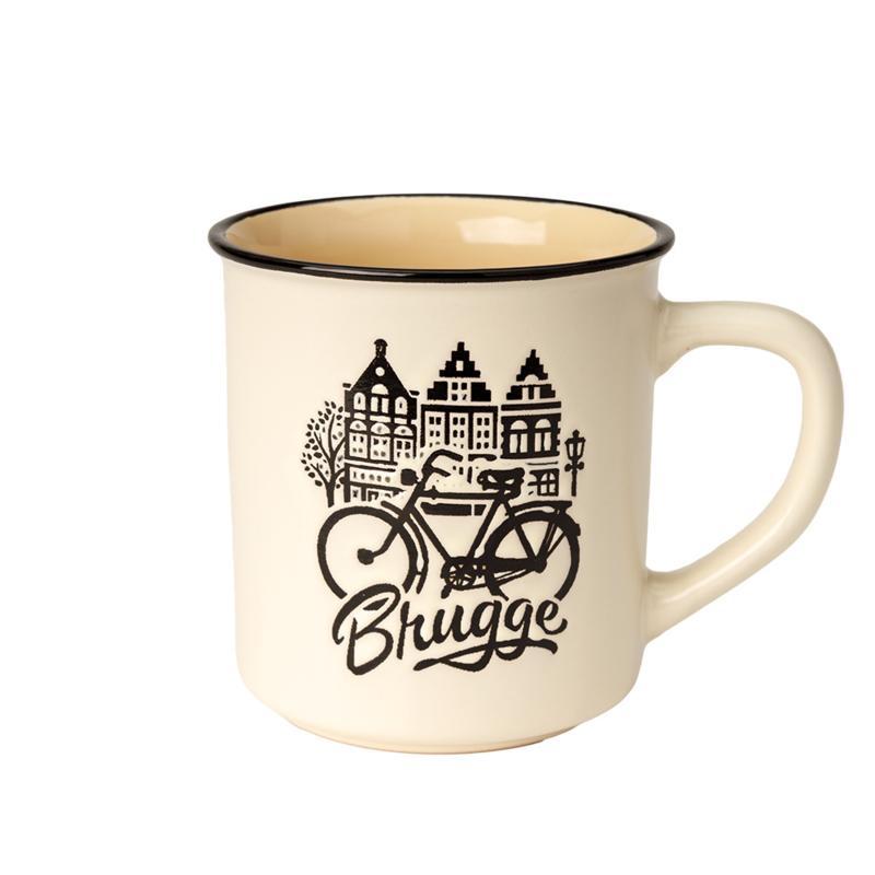 Beker Brugge Retro - Beige