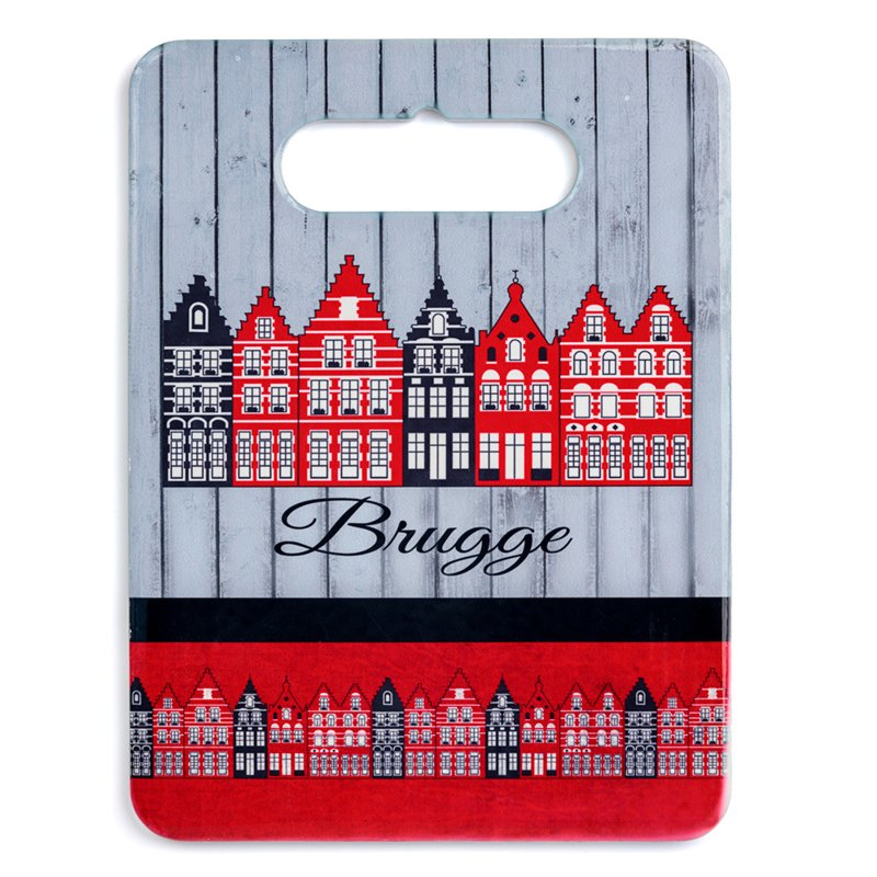 Snijplank Keramiek Huisjes Brugge