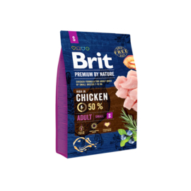 Brit Premium by nature Adult S 3 kg
