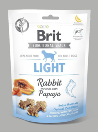 Brit care zachte snacks light konijn & pompoen 150 gram