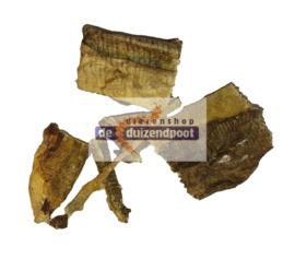 Kabeljauwhuid snippers 120 gram