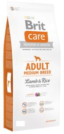 Brit adult Medium Breed Lamb & Rice 3 kg