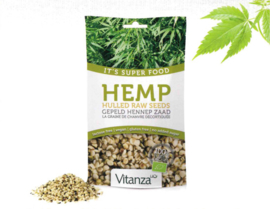 superfoods hemp raw seeds 200g