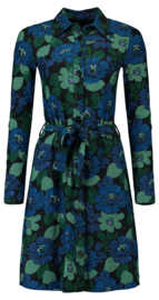 Tante Betsy Shirt dress Forest ink.